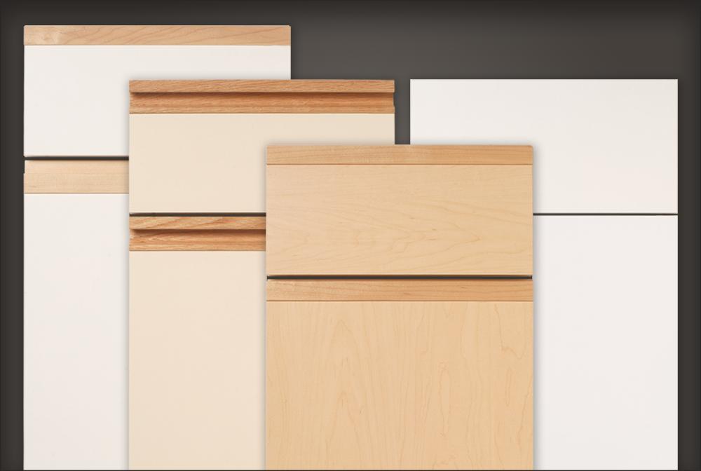 slab style cabinet doors drawer fronts for residential pros. Black Bedroom Furniture Sets. Home Design Ideas