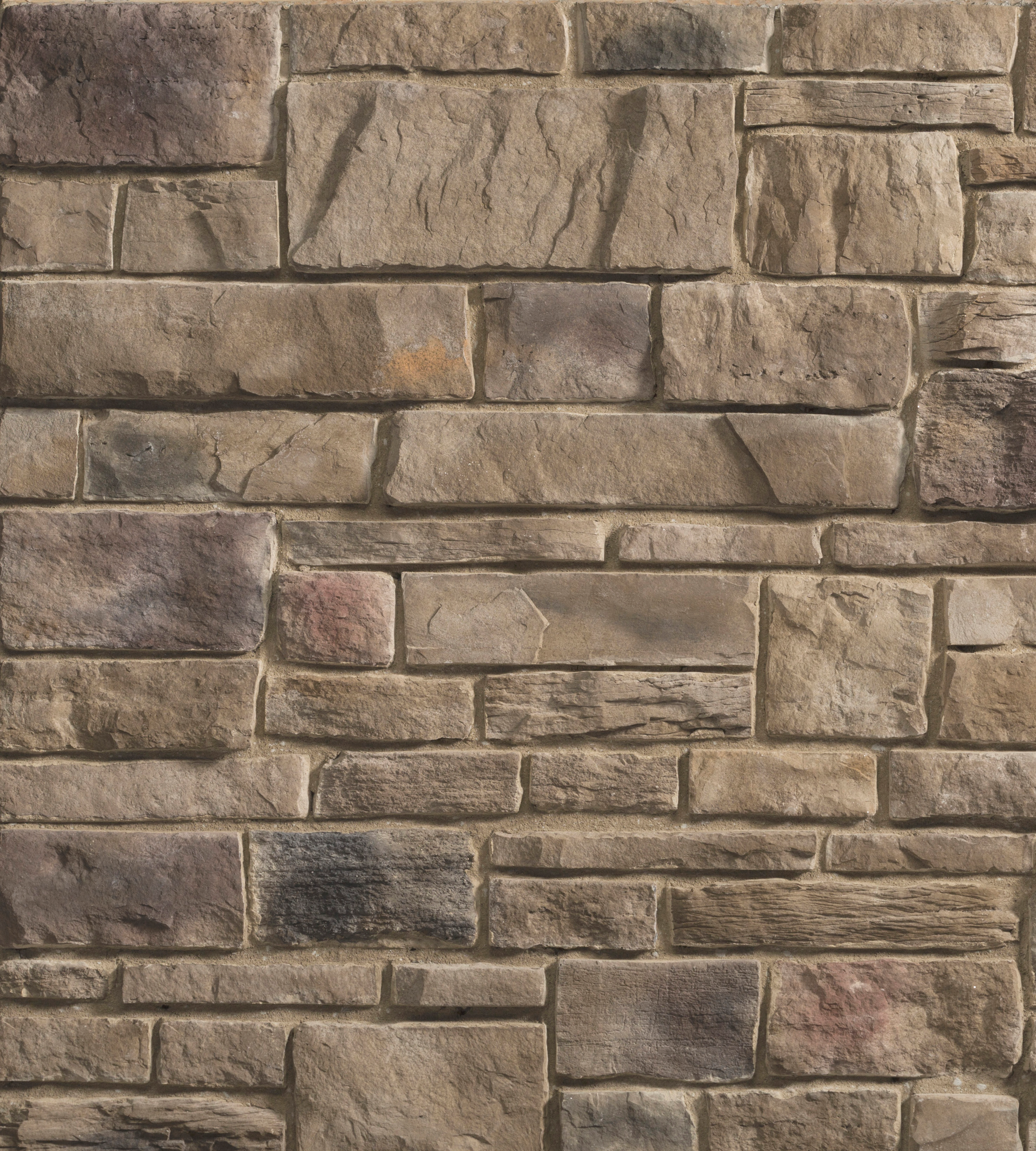 Shadowing Texture Results Of Blends Of Stone In Veneer