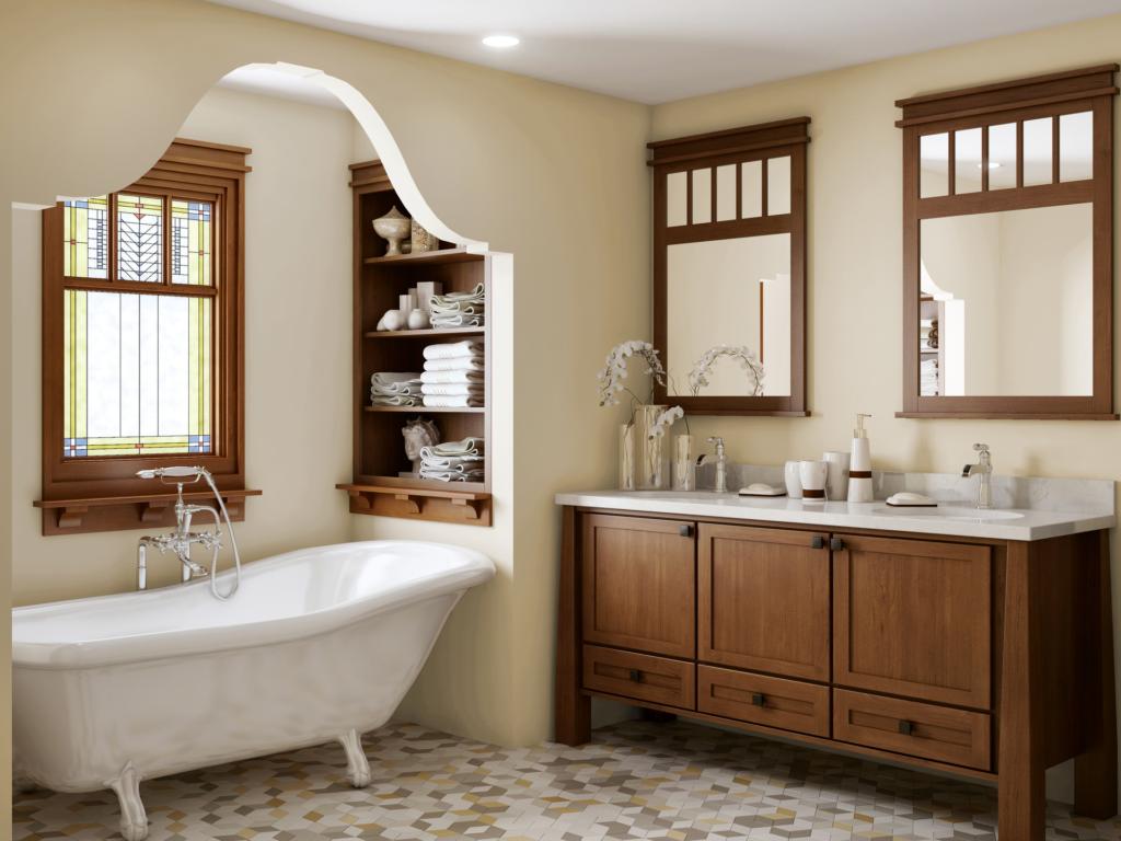 bath vanity - Shaker Bathroom 2015