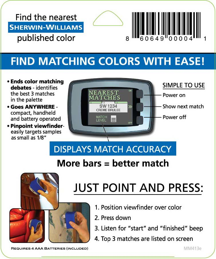 2 2 - Sherwin Williams Color Matching