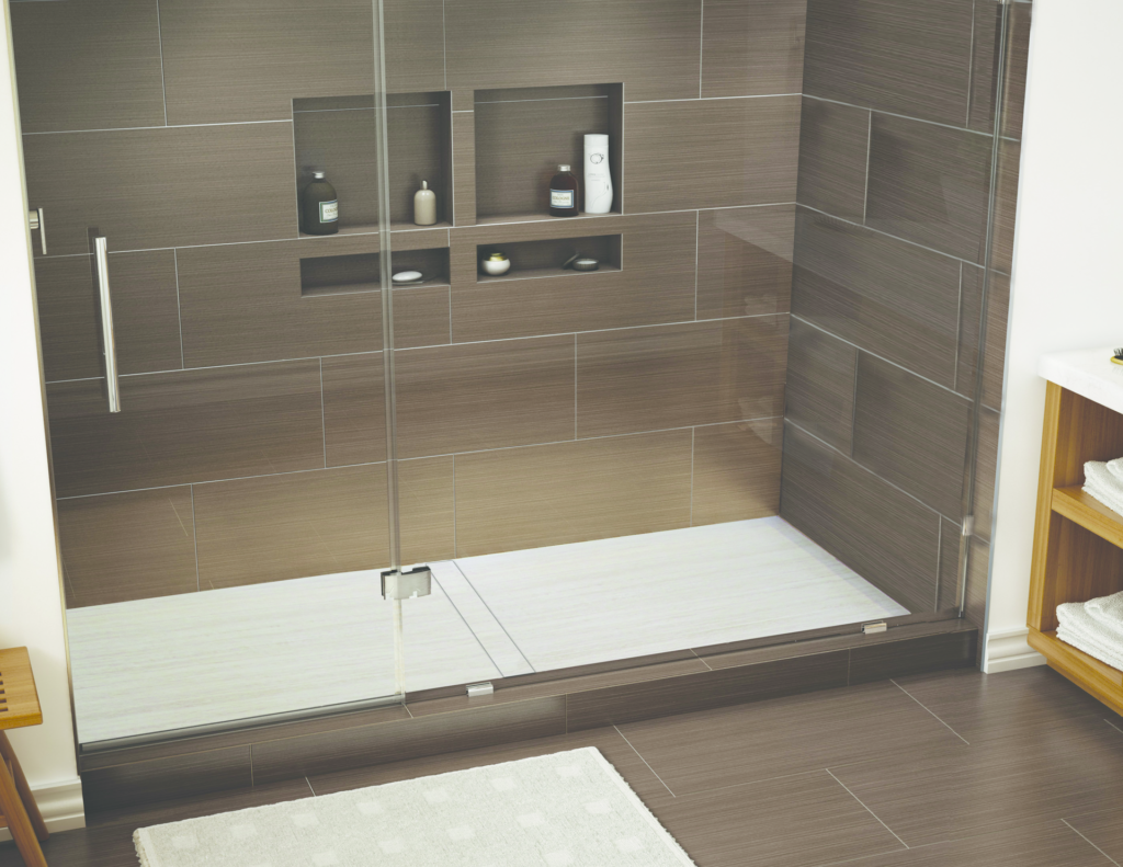 One-piece shower pan for larger applications | For Residential Pro