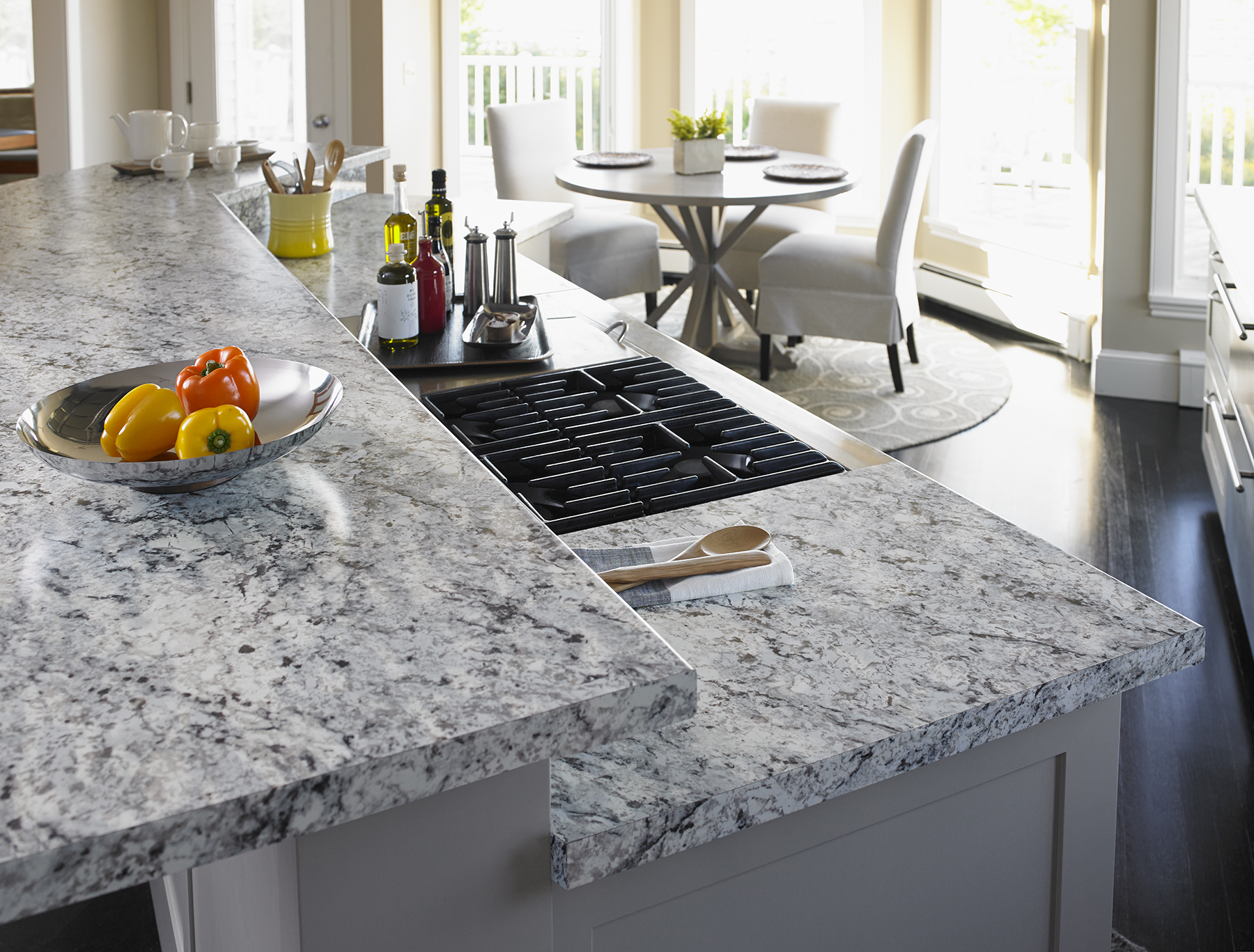 White Ice Granite Laminate