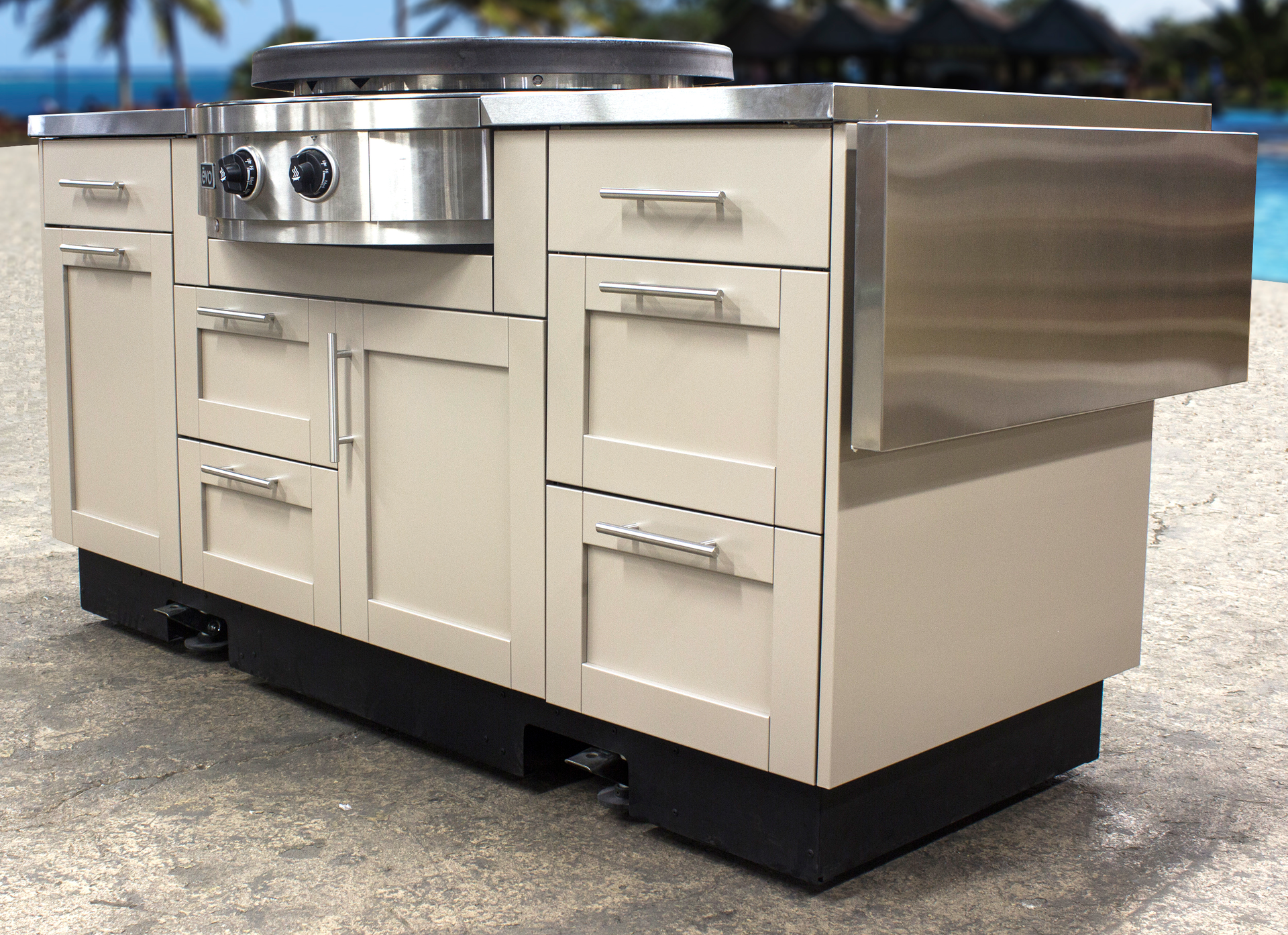 mobile outdoor kitchens for residential pro