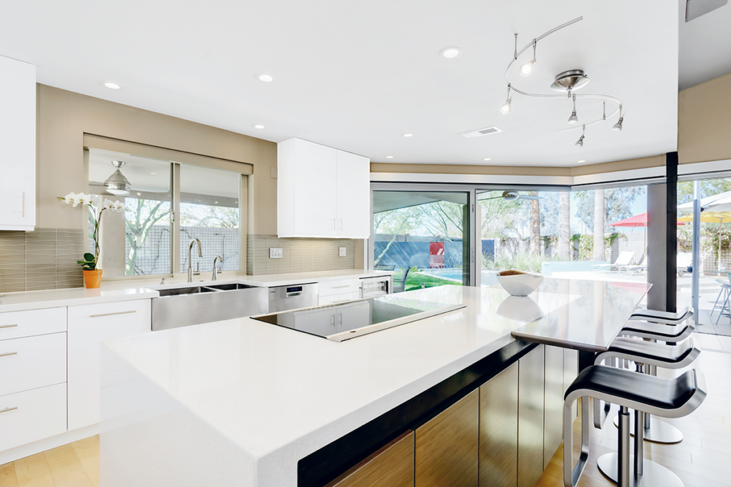 ... The Homeowners Can Readily View And Access The Backyard Paradise  Through The Floor To Ceiling Glass Wall/sliding Doors That Extend From The  Kitchen And ...