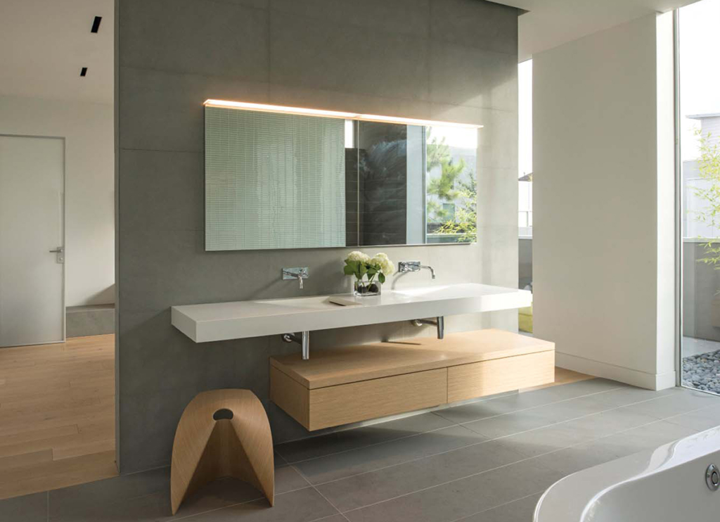 In The New Built Project Category Of The Duravit Designer Dream Bath  Competition For 2015, Houston Based Intexureu0027s House Project Included  Several Bathrooms ...