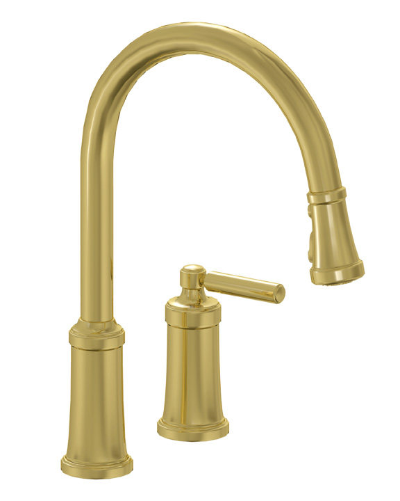 Good Unlacquered Brass Kitchen Faucet