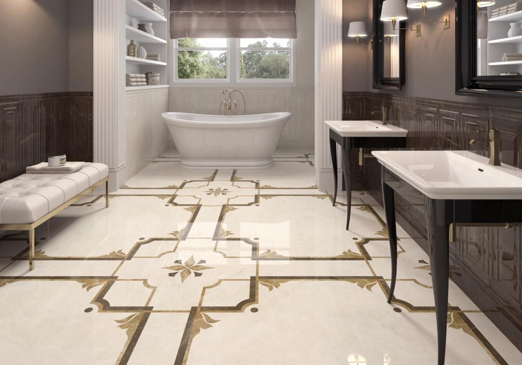 New technology drives tile trends kitchen bath design for New tile technology