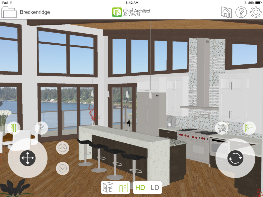 Virtual Reality Walk Through Of Models For Residential Pro