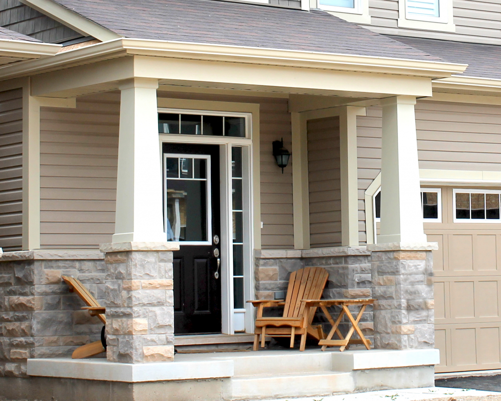 Two additional column wrap designs qualified remodeler for Tapered columns