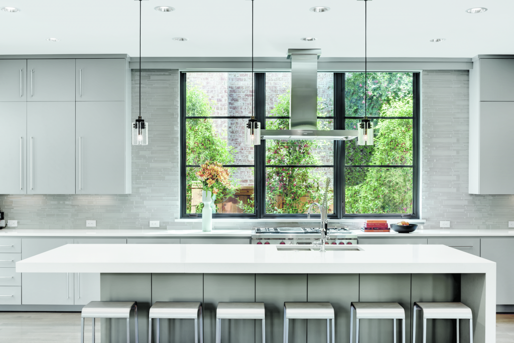 Large casement window fits myriad of applications for for Marvin ultimate casement