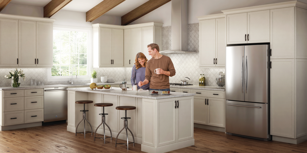 Frameless Cabinetry With Quick Ship Delivery Option For