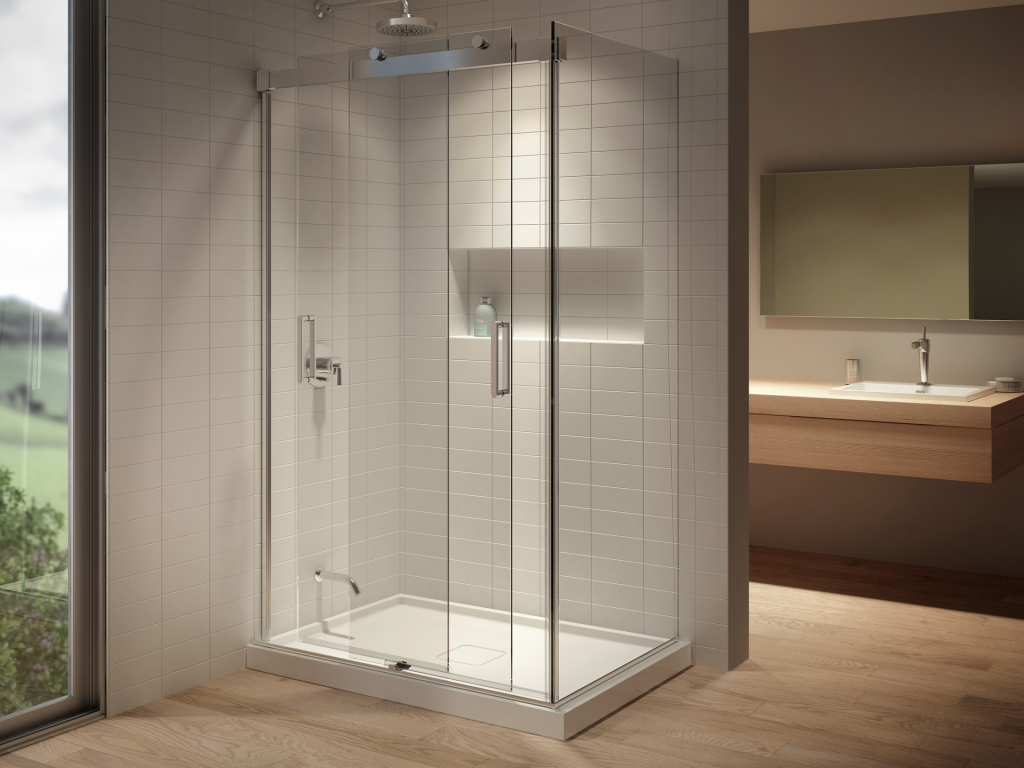 Double Entry Shower Enclosure | For Residential Pros