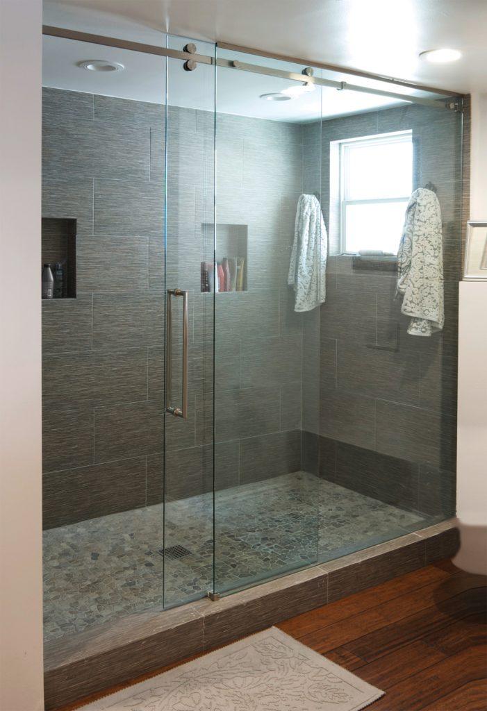 Senior Sliding Shower Door System For Residential Pros