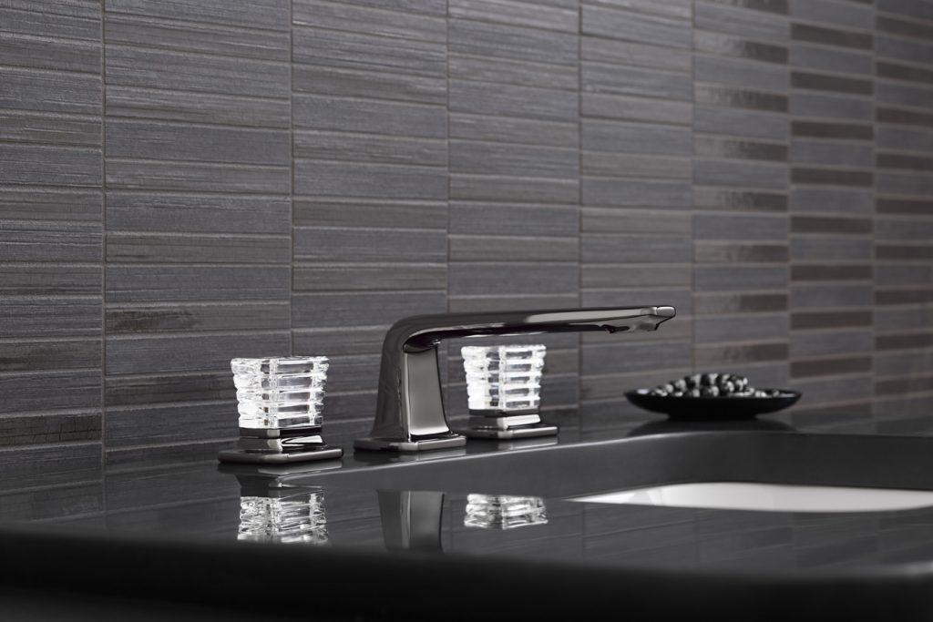 Superieur Per Se Bath Faucet With Crystal Knobs