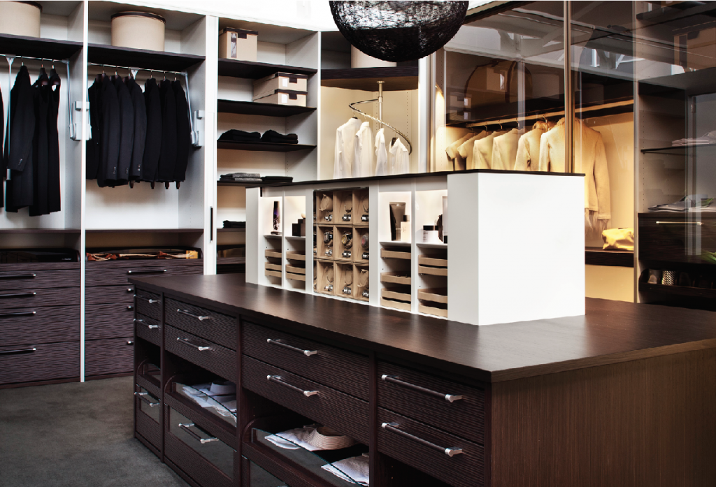 High end custom closet opportunities kitchen bath design for Studio closet design