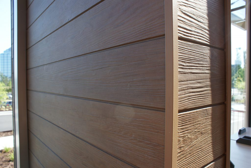 Fiber cement provides wood look remodeling industry news for Fiber cement shiplap siding