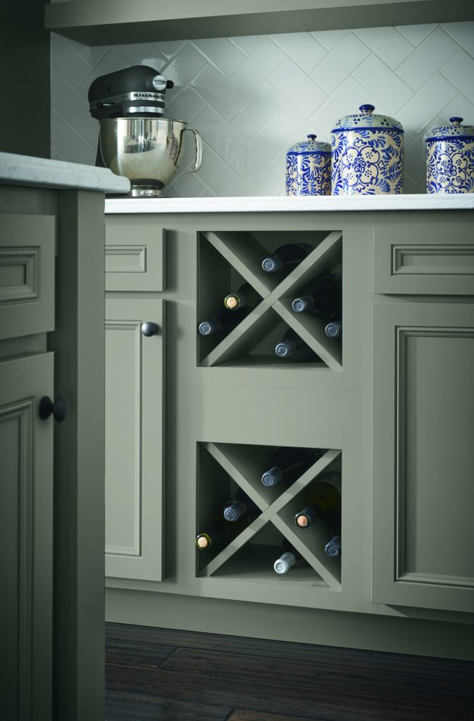 Stone Gray Cabinet Finish Kitchen Bath Design News - Stone grey kitchen cabinets