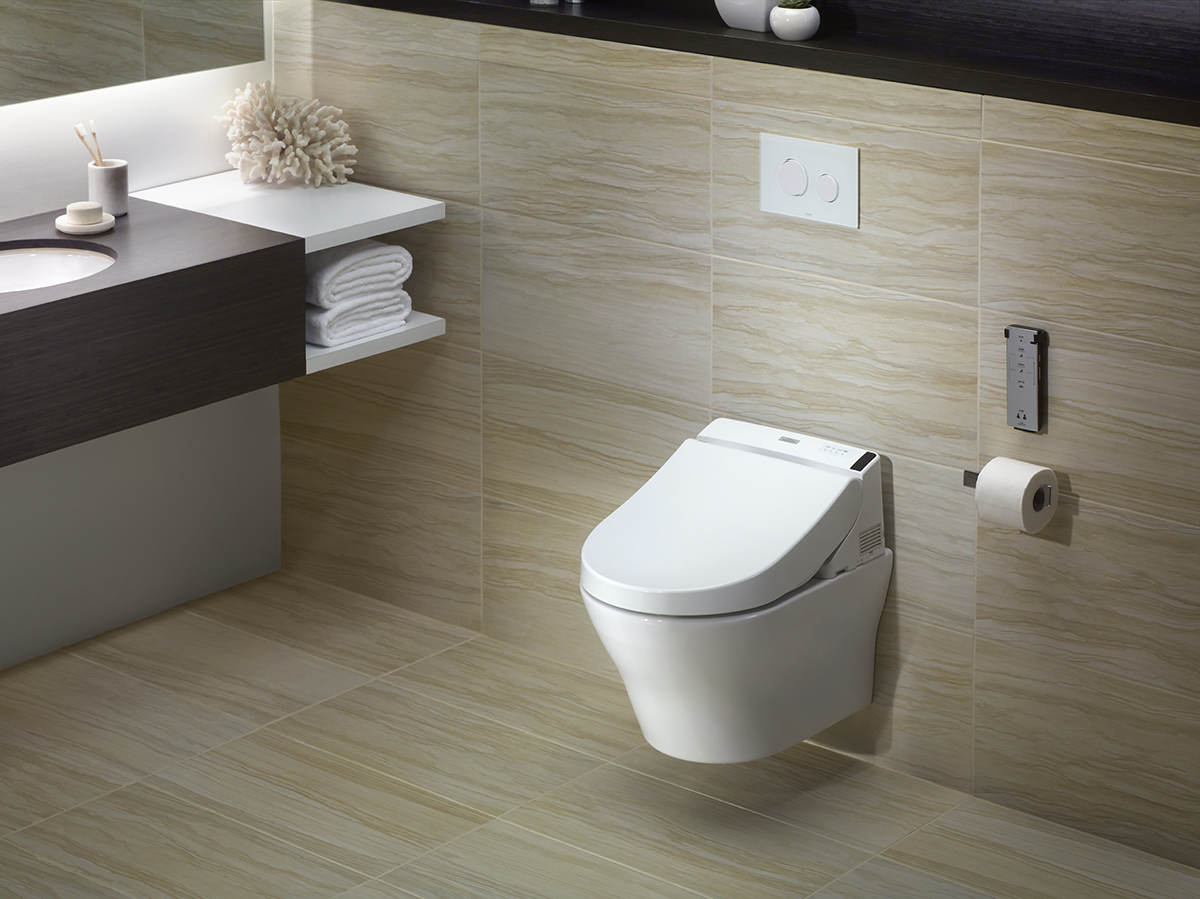Wall mount dual flush toilet for residential pros for Flush with the wall