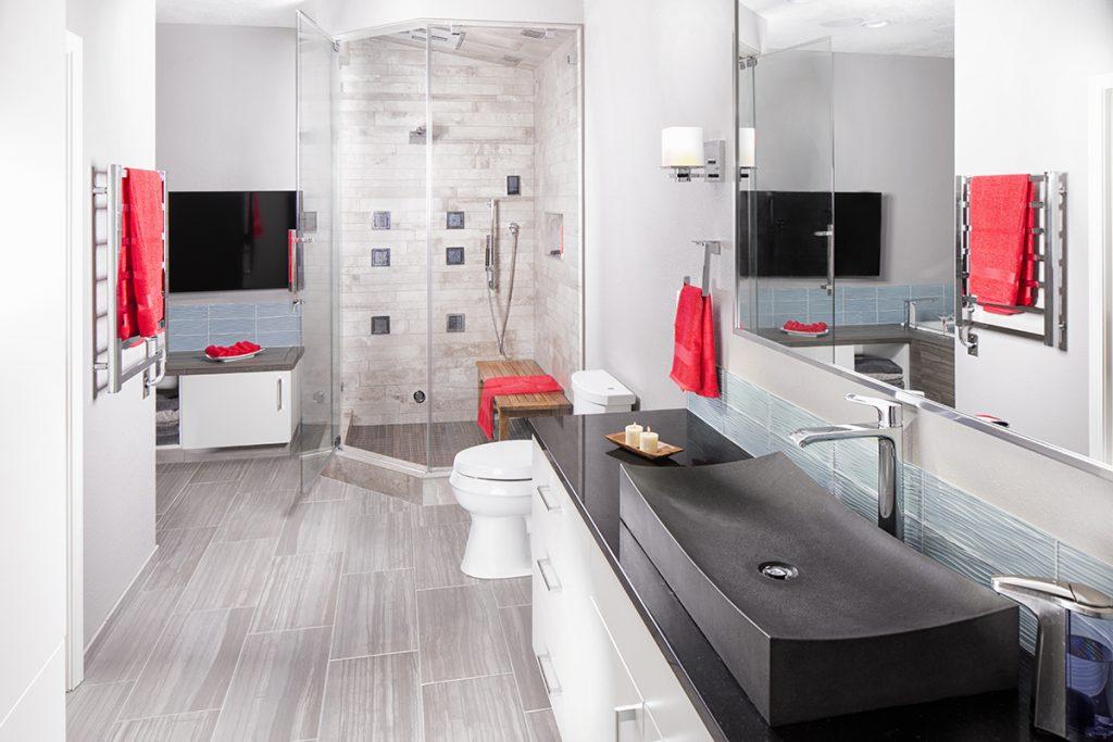 Master Bath Becomes Home Spa   Kitchen & Bath Design News