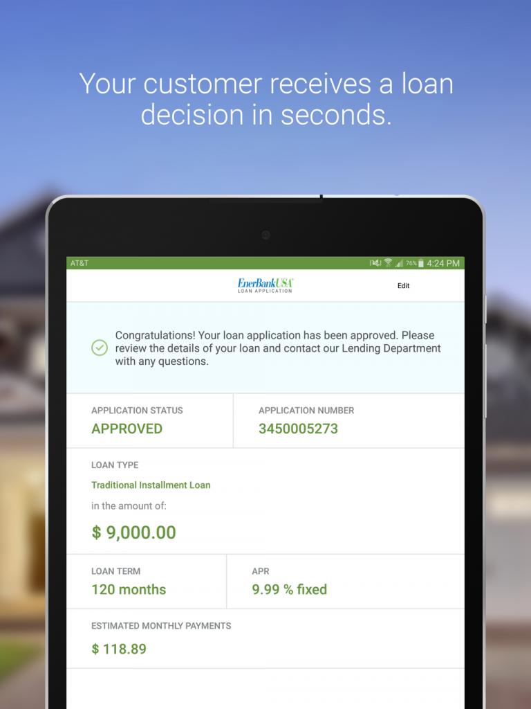 Fullerton loan application status