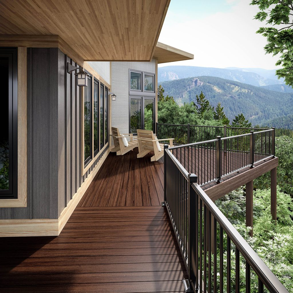 Decking trends composite products making up ground for Composite wood colors