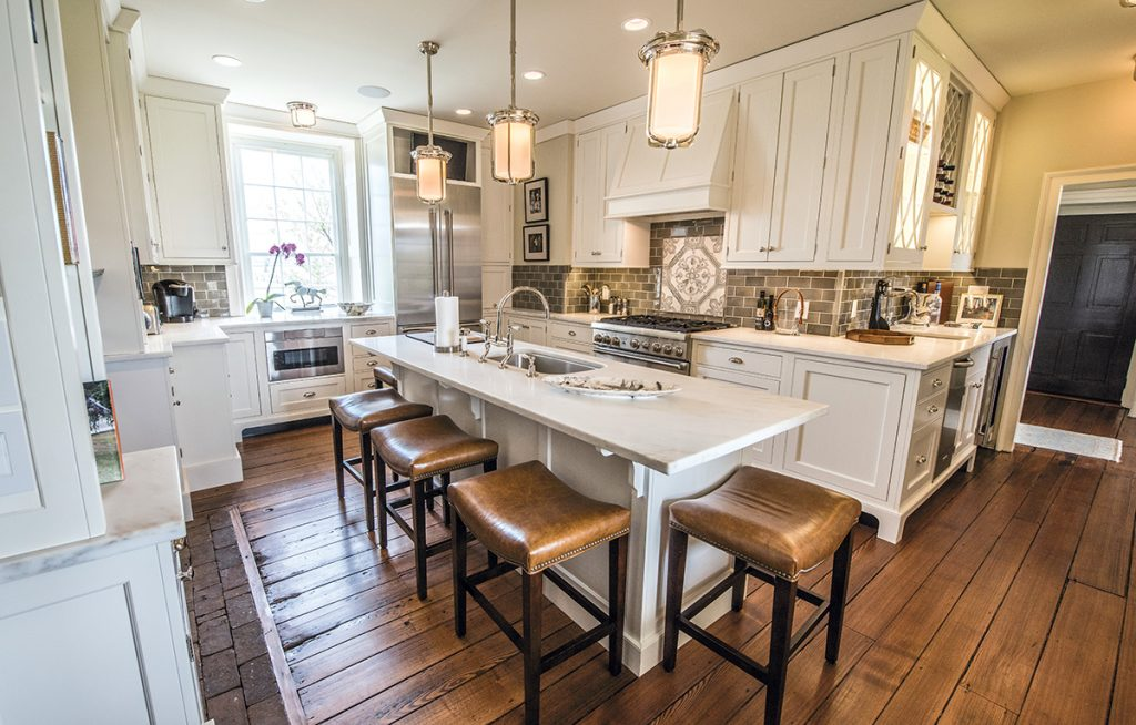 Historic Kitchen Retains its Farm Charm  Bath Design