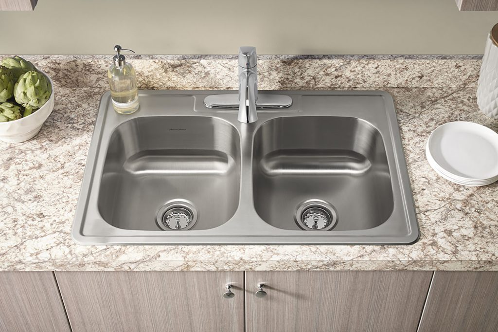 American made kitchen sinks moen stainless steel 25 quot single basin 4 kitchen sink made in - American made stainless steel sinks ...