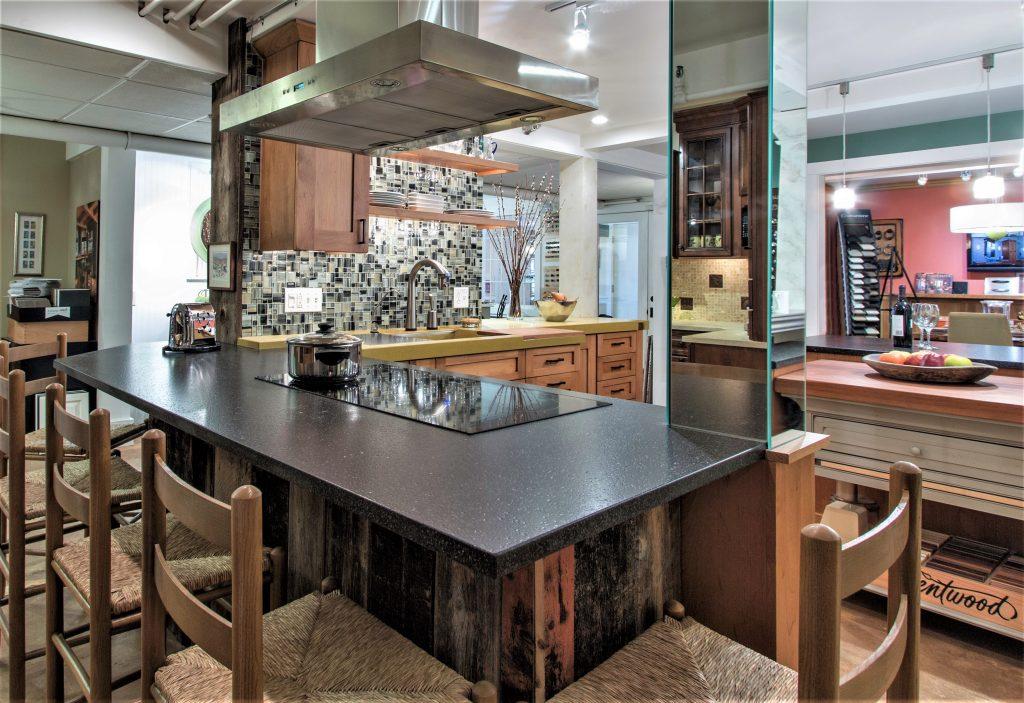 designer follows mom's artistic footprints | kitchen bath design