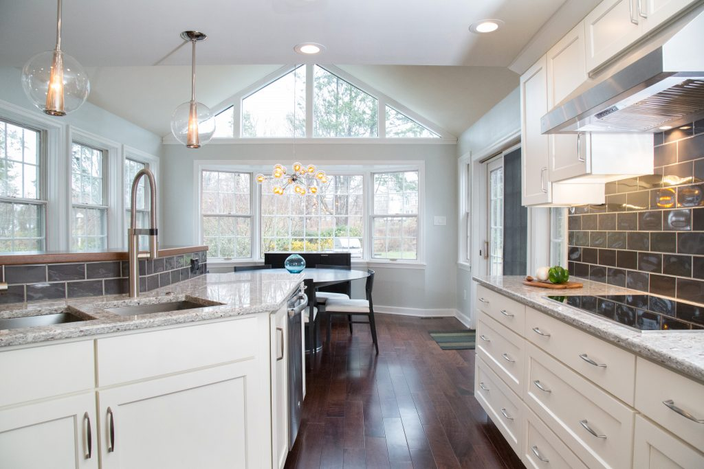 Open Kitchen Creates Unified Living Space