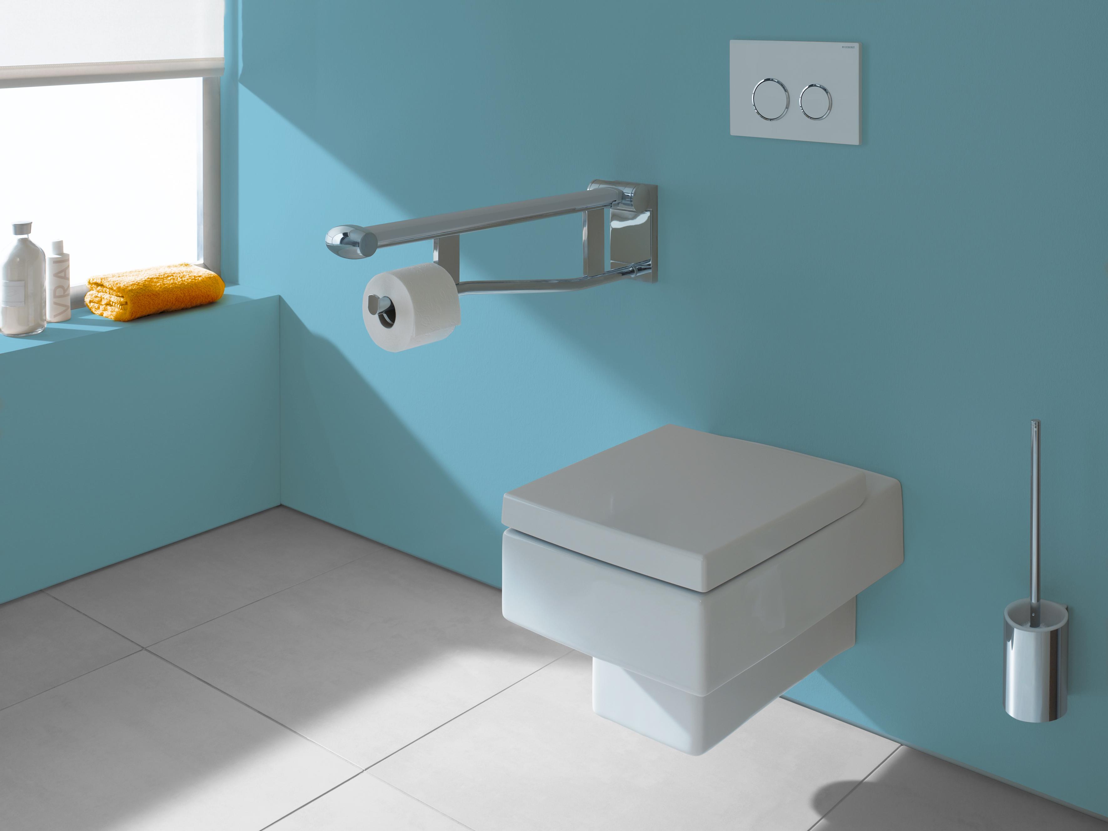 grab bar paper holder for residential pro