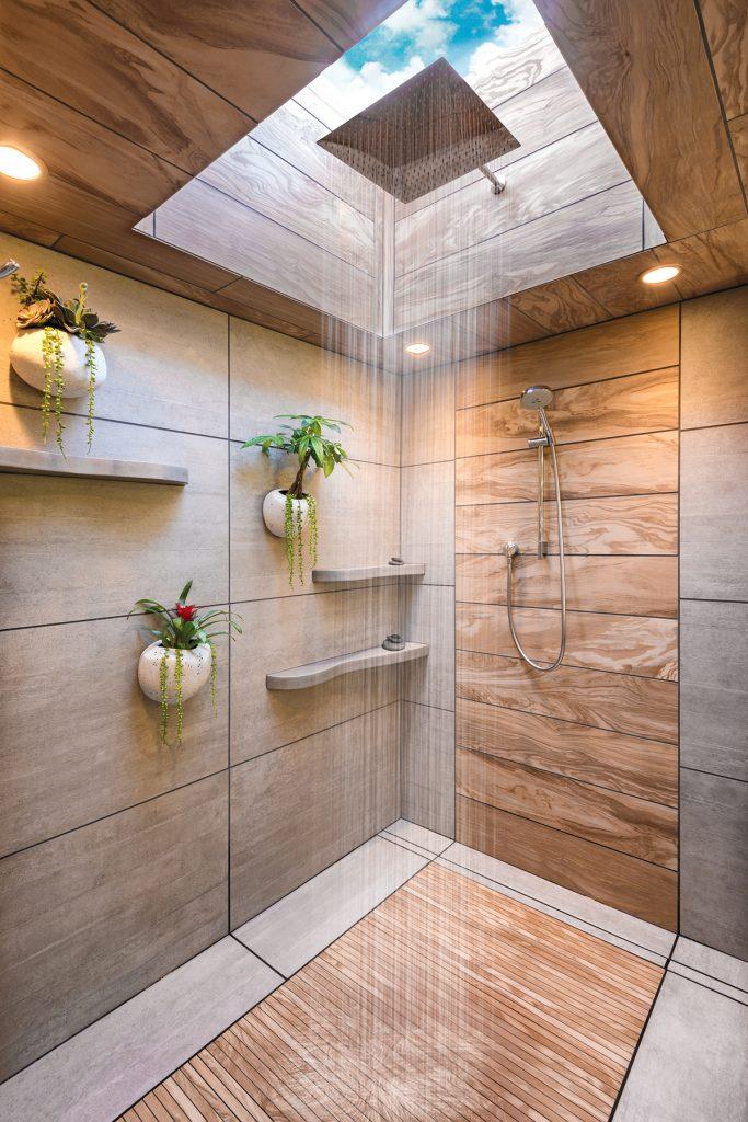 2017 master design awards bathroom 50k 75k for Build a house for 75000