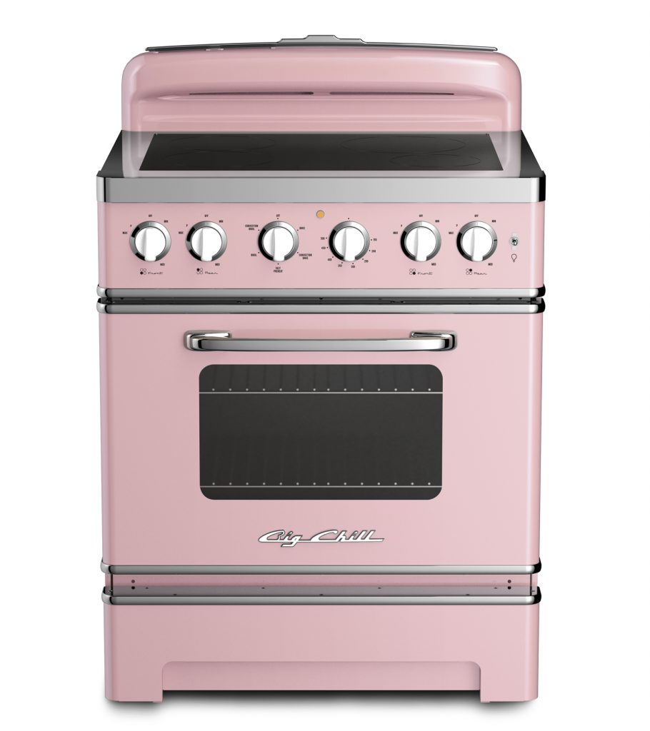 Vintage Electric Stoves And Ovens ~ Retro electric induction range for residential pros