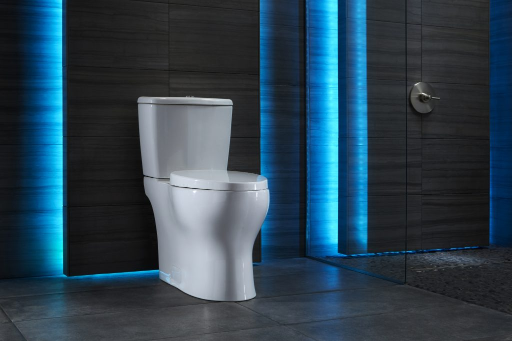 Toilet's technology helps protect environment