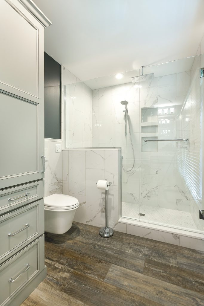 kitchen and bath designer. Photo  Borchert Kitchen and Bath Designer Krista Buchholz is seeing increased interest in wall hung toilets which she says offer the benefit of saving Luxury Water Spas Design