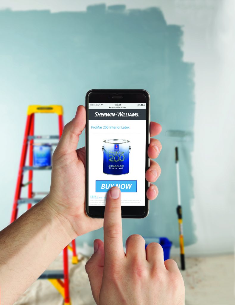 Sherwin-Williams Introduces Online Ordering for Pros | Residential ...