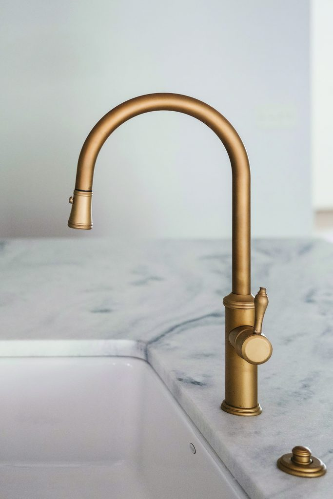 Gold Tone Kitchen Faucet Finishes For Residential Pros