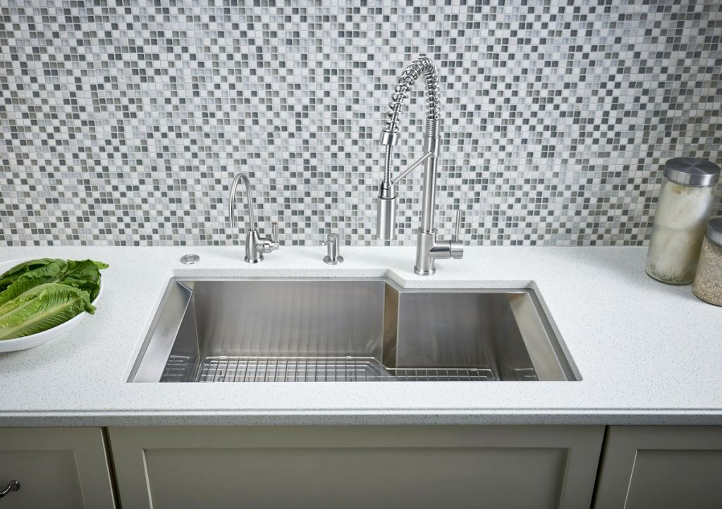 Trends for 2018 smart technology faucet finishes for Fixture finishes trends