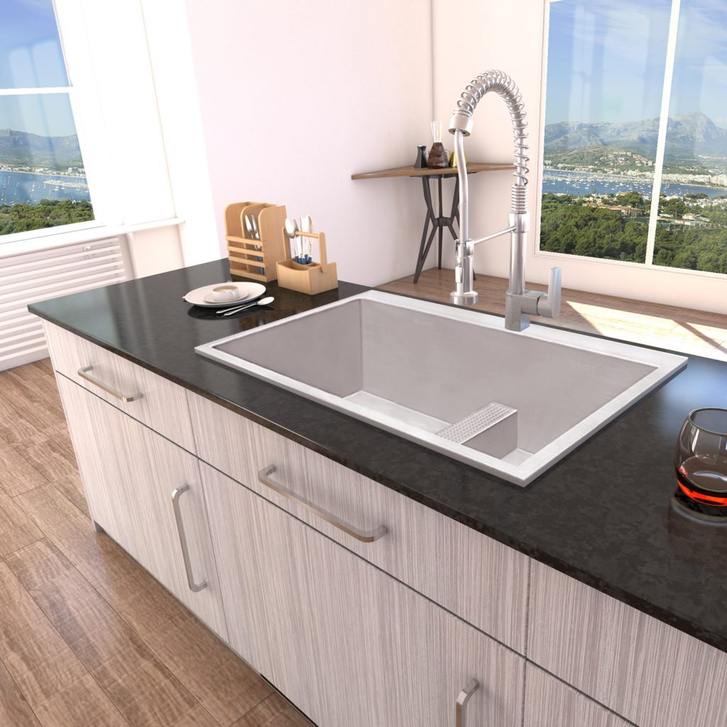 Perfect divide kitchen sink kitchen bath design for Perfect kitchen and bath