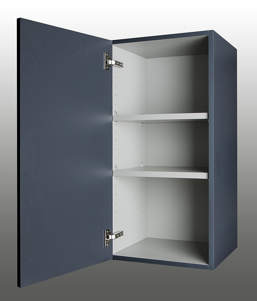 Gray Laminate Cabinet Interiors | Qualified Remodeler
