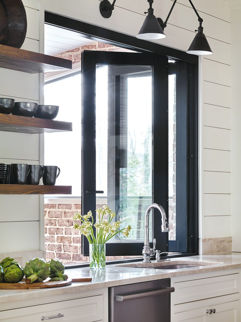 modern farmhouse kitchen design white davenport imber combines the minimalistic look of modern kitchen with charm traditional farmhouse to showcase best both in modern farmhouse kitchen bath design news