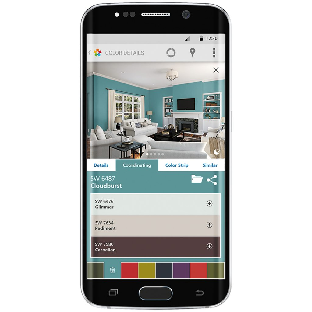 What's App: Sherwin-Williams ColorSnap Visualizer