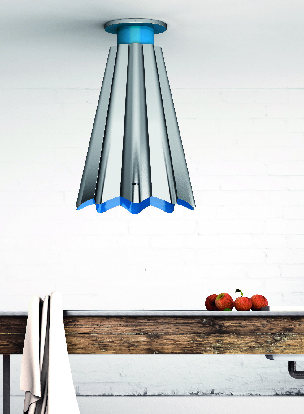 Range hood with color matching system