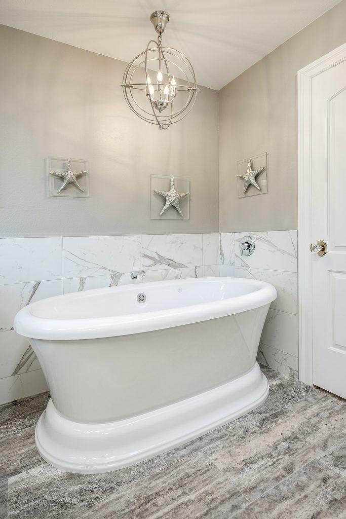 Busy Bath Transforms into Calming Oasis | Kitchen & Bath Design News