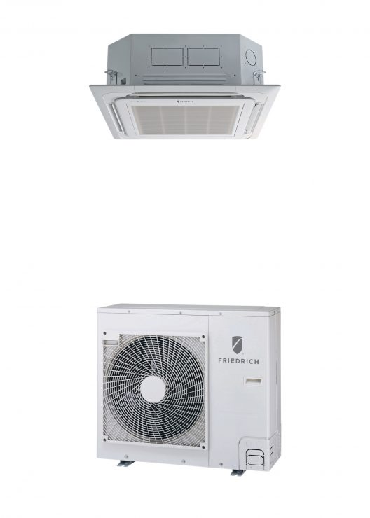 Ductless system delivers efficiency, quiet operation