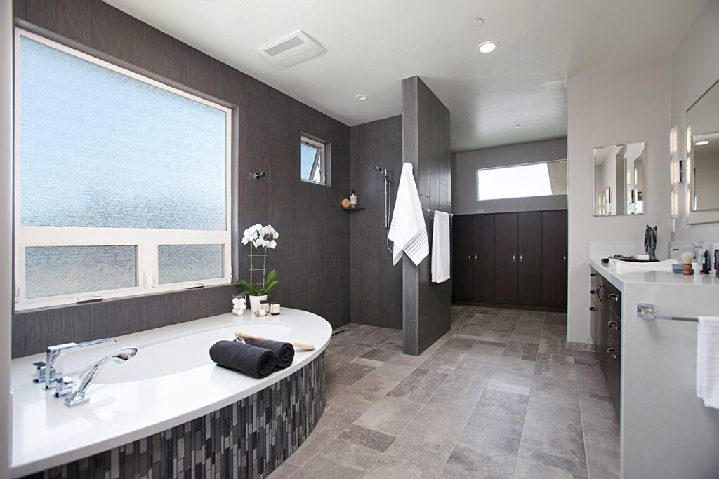 Comfort And Simplicity Continue To Trend Kitchen Bath Design News Mesmerizing Bath Remodel San Diego Minimalist Property