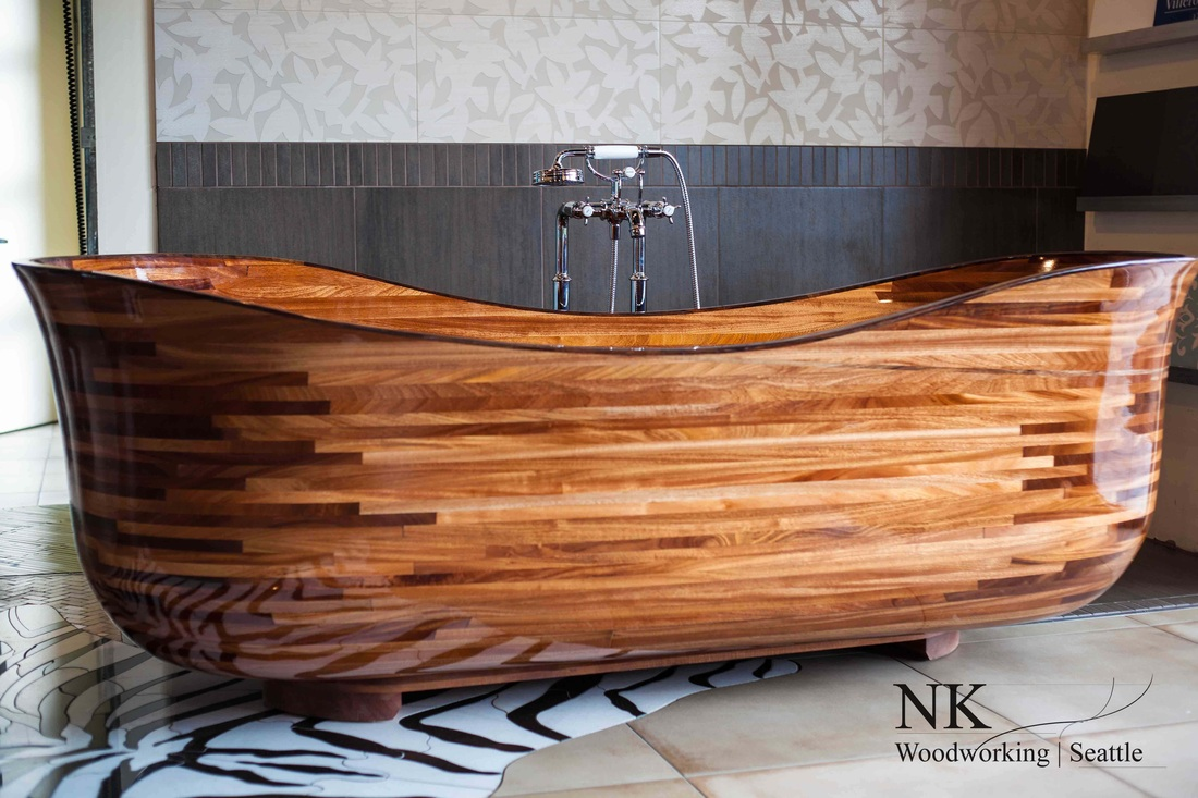Wooden Soaking Tub | For Residential Pros