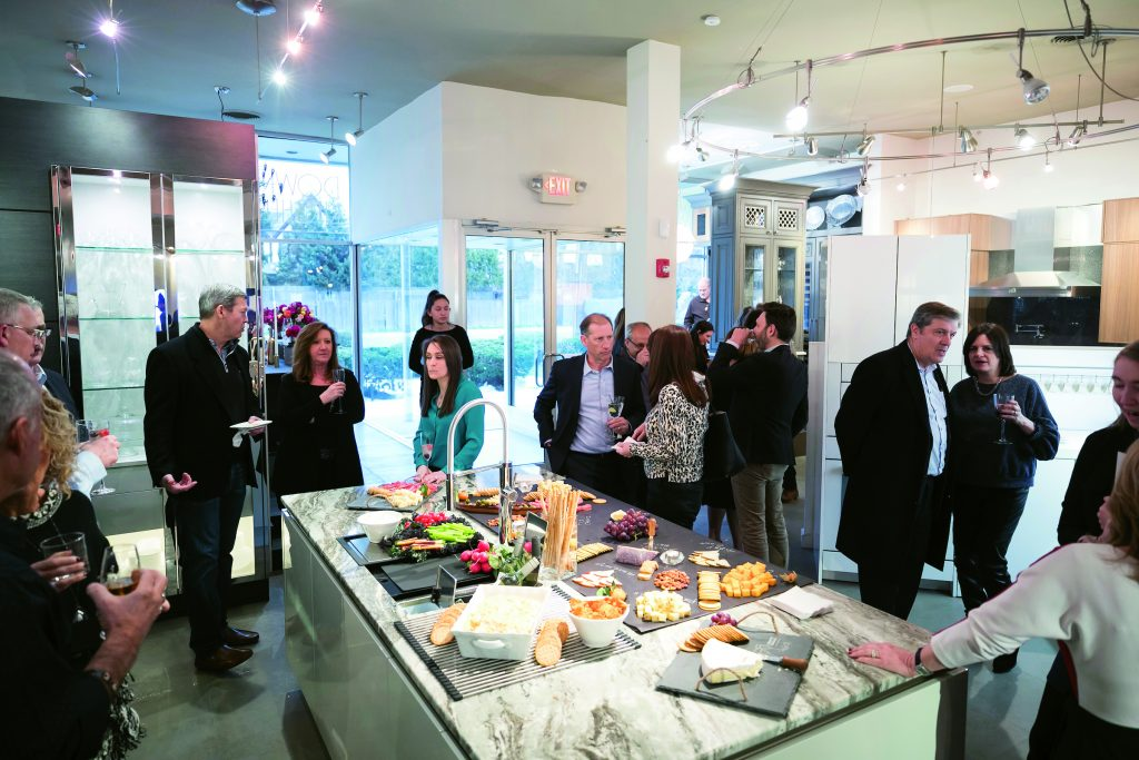 Franke sponsors li showroom event kitchen bath design news - Franke showroom ...