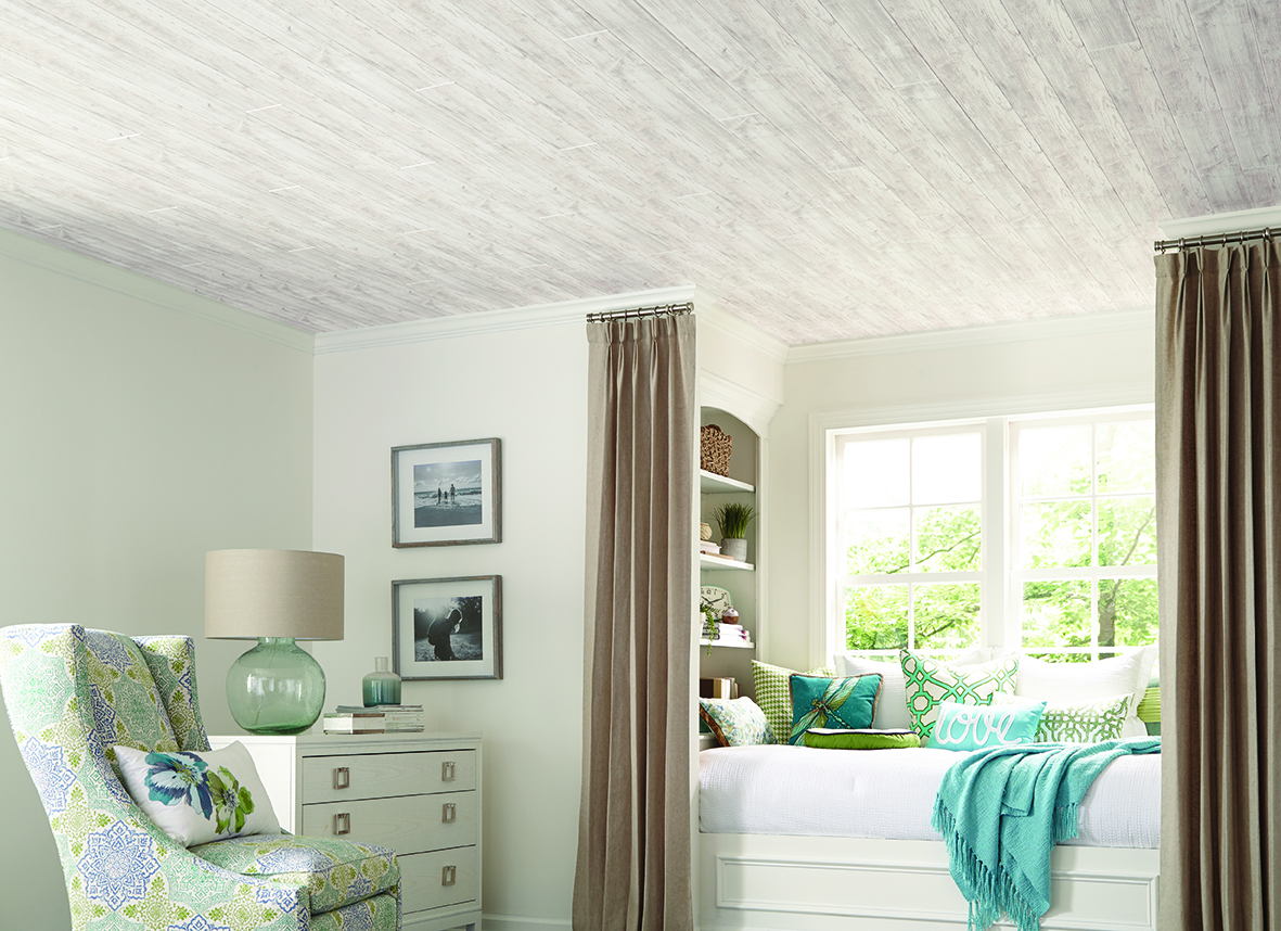Updated finishes for ceiling planks | For Residential Pros