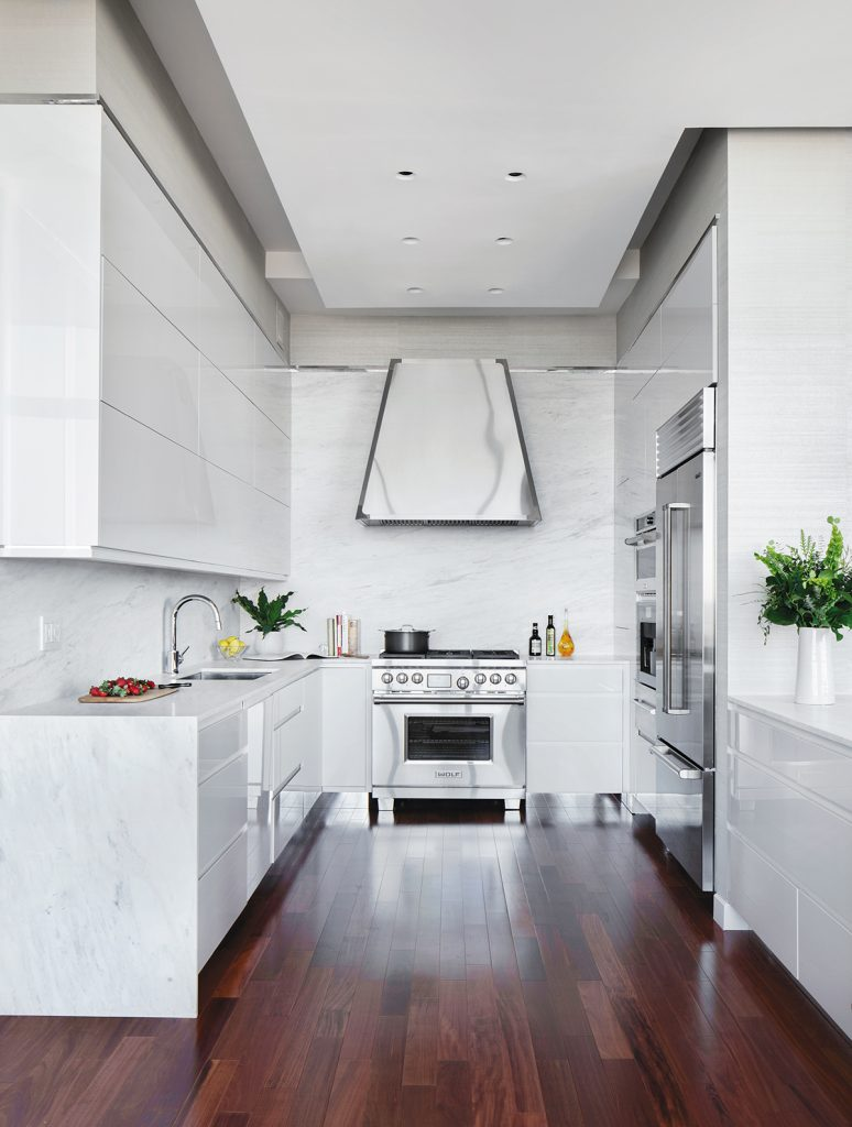 Sarah Robertson Designed This Kitchen In Collaboration With ND Interiors  With A Focus On Custom Cabinetry. Since The Space Is Relatively Small, ...