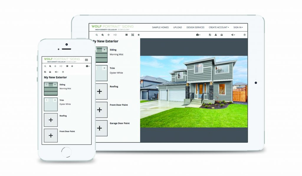Interactive Siding Visualizer For Residential Pros